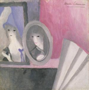 The Fan c.1919 by Marie Laurencin 1885-1956